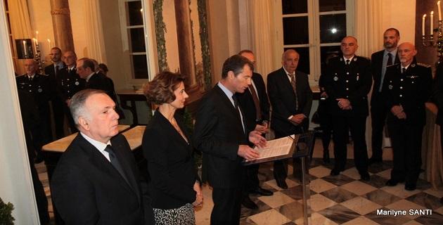 Ajaccio : Les vœux aux personnalités de la préfecture de Corse