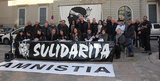 L'Associu Sulidarità lance une nouvelle campagne d'actions pour les prisonniers politiques