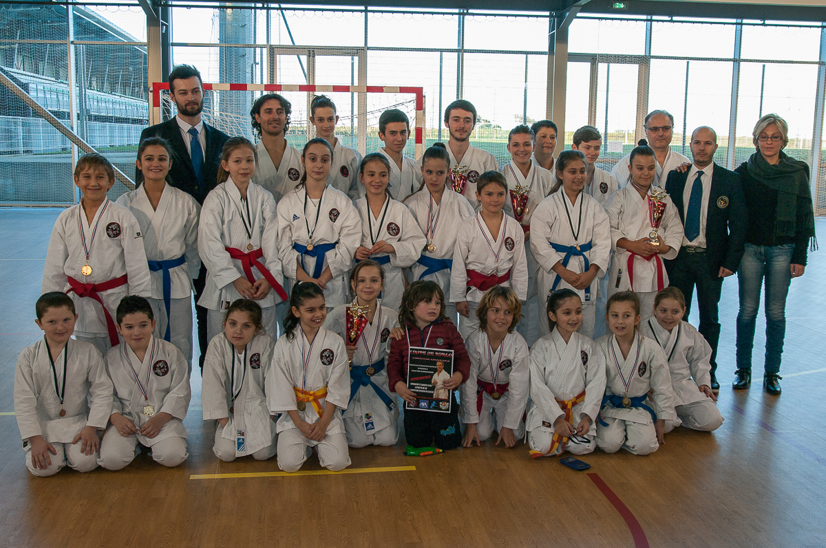 Borgo : 80 participants à la coupe de Corse de Karaté