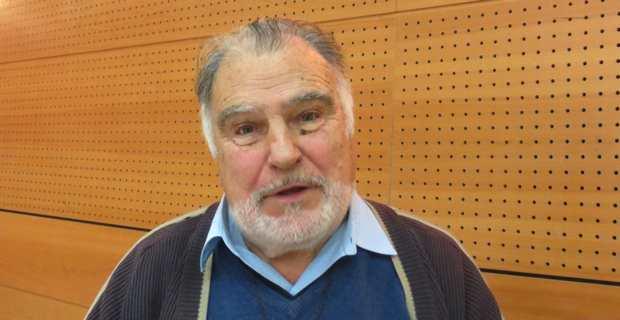 Stan Rougier, prêtre catholique, auteur de l'ouvrage « Aime et tu vivras », sorti à Noël dernier.
