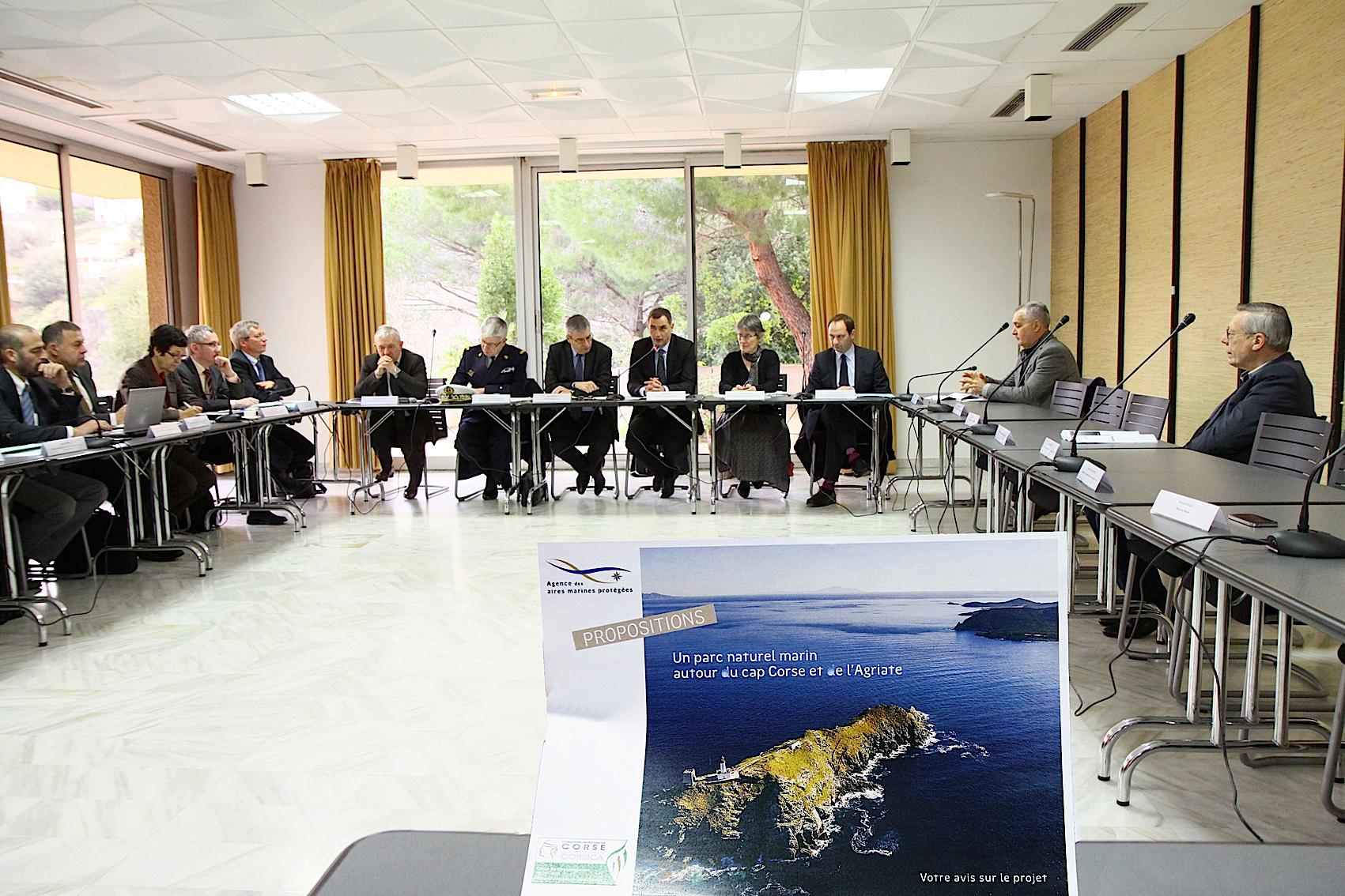 Parc naturel marin du Cap Corse et de l'Agriate : Le commissaire-enquêteur désigné