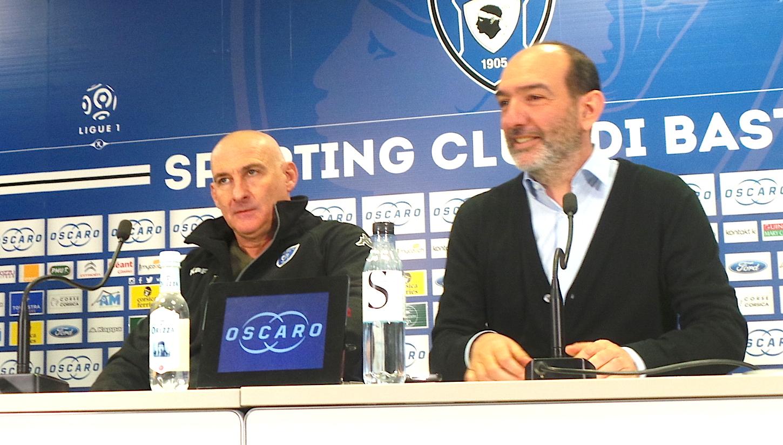 """François Ciccolini (SC Bastia) :""""Tous, les mains dans le cambouis"""""""