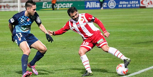 Cavalli et l'ACA : 1-1 à Tours (Photo Marcu-Antone Costa)