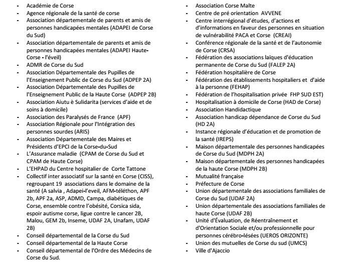 """La Charte """"Romain Jacob"""" validée par 40 signataires à Ajaccio"""