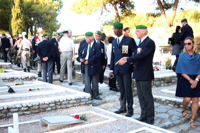 Le 2e REP  de Calvi commémore la tragédie du Mont Garbi