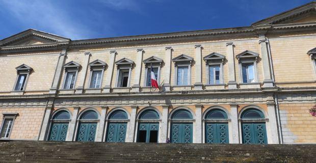 Le palais de justice de Bastia.