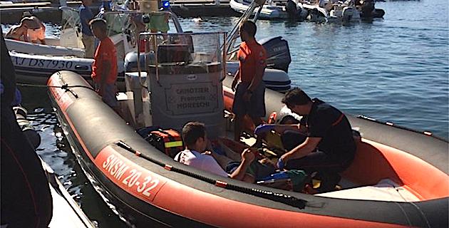 Avant son match face à Nîmes, l'ACA soutient les sauveteurs en mer