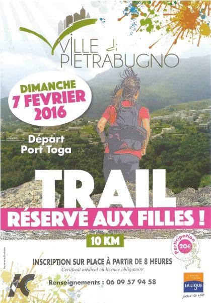 Trail de Ville-di-Pietrabugno : Une course solidaire et 100% féminine