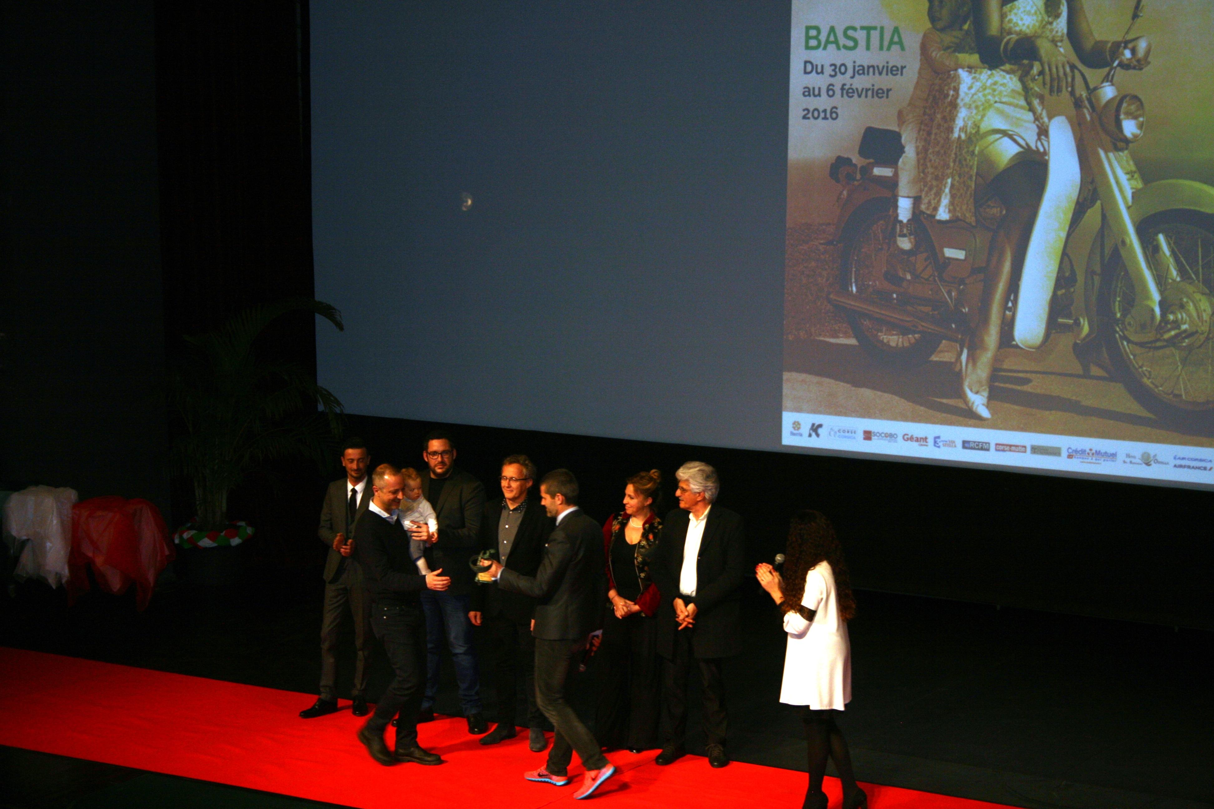 Matthieu Tarot rémet le Prix du Jury à Claudio Cupellini