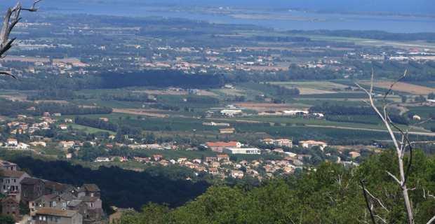 La plaine de la Casinca jusqu'à la Marana.