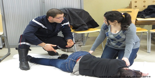 Gestes et comportements qui sauvent : L'implication du centre de secours d'Ajaccio