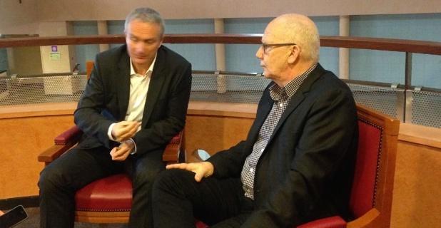 Patrick Bressot et José Santoni