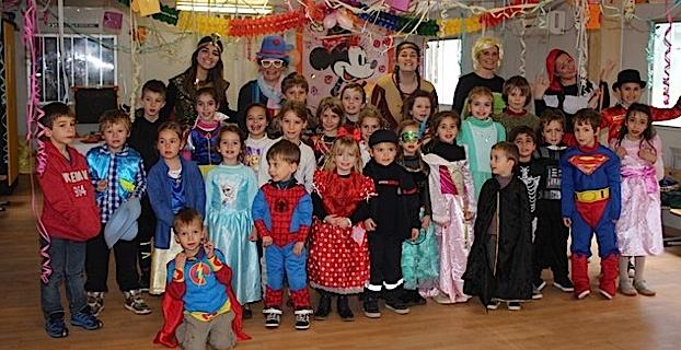 Les enfants du centre aéré de Calvi ont fait leur carnaval