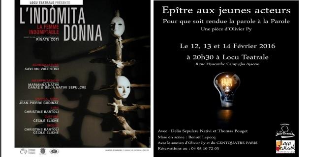 Locu Teatrale : Rinatu Coti et Olivier Py mis en scène