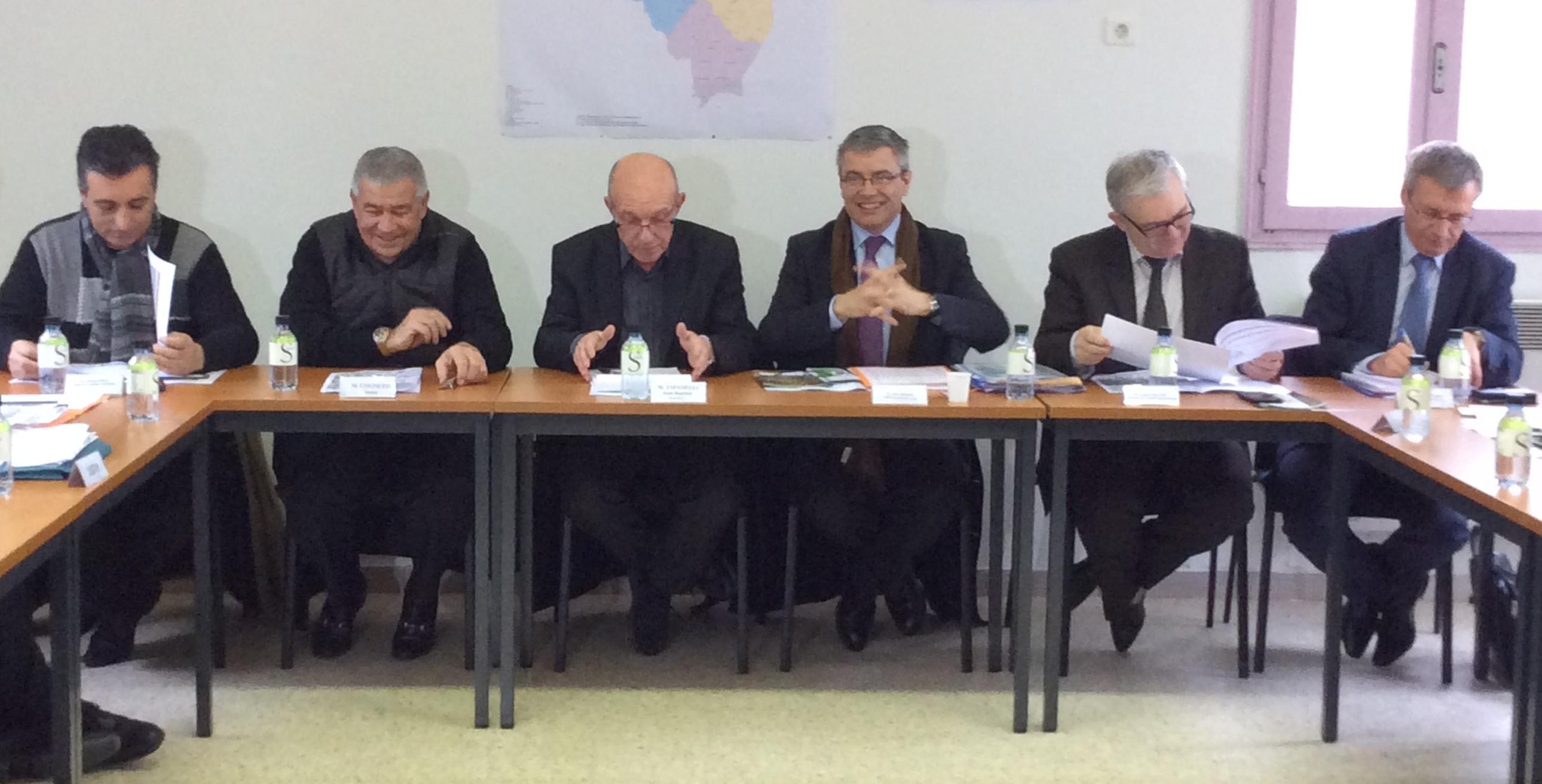 Prévention des crues du Golu : Le préfet et les élus sur le terrain
