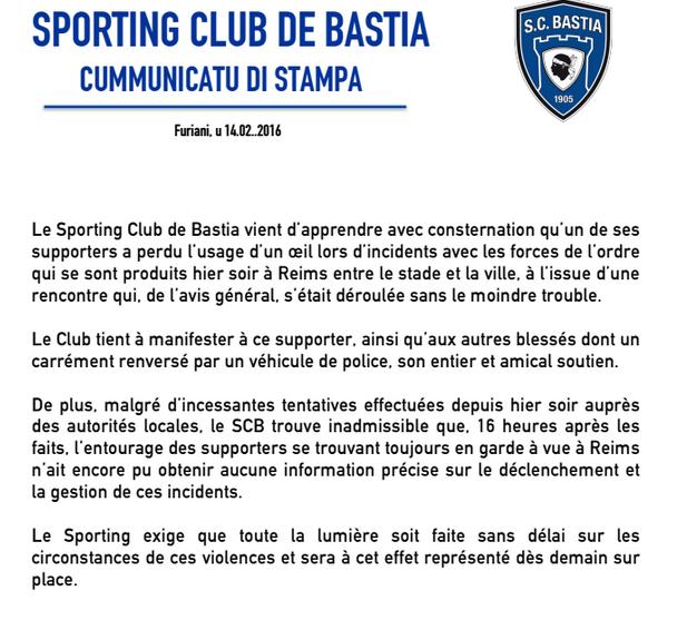 """Le Sporting exige """"que toute la lumière soit faite sans délai"""""""
