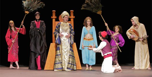 """""""Aladin"""" au Théâtre de Propriano"""