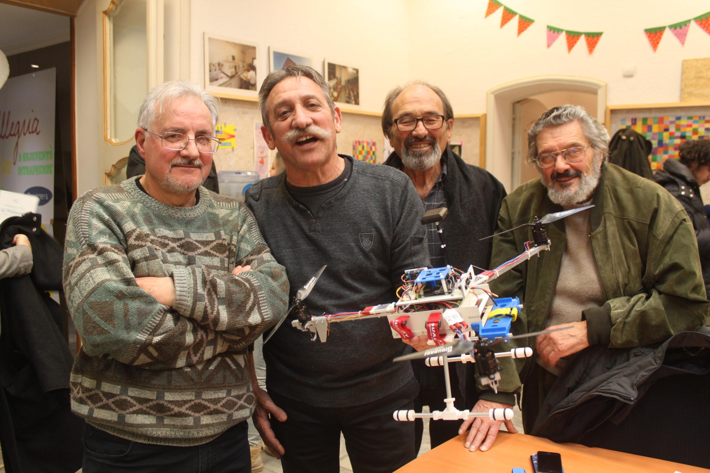 Le club d'aéromodélisme du centre Corse et ses drônes