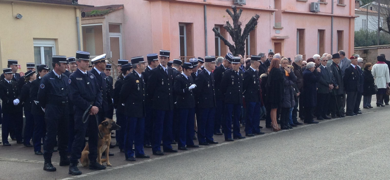 Caserne Battesti : Hommage aux gendarmes victimes du devoir