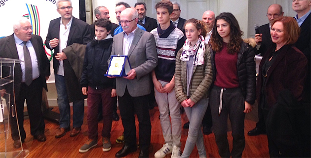 Le collège de Porticcio (Voile) récompensé