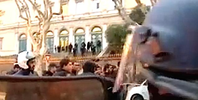 Manifestation : Sans la mairie de Bastia et sans la LCF. Plainte des interpellés de Reims