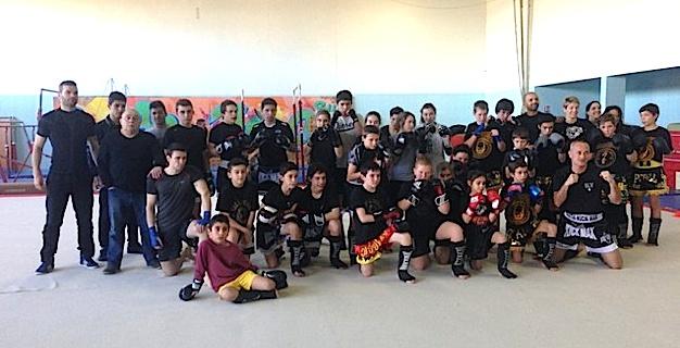 Stage de Kick-Boxing réussi à L'Ile-Rousse