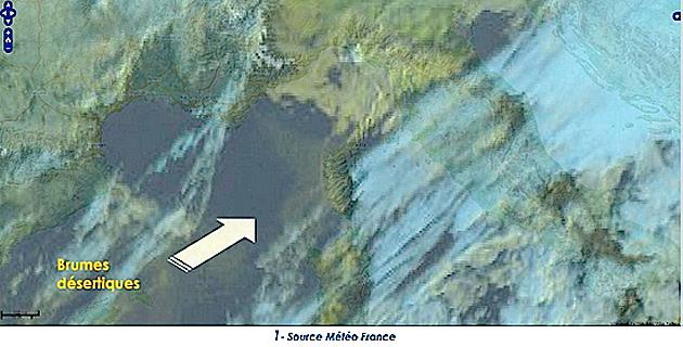 Pollution : Poussières désertiques sur la Corse