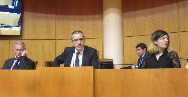 Le président de l'Assemblée de Corse, Jean-Guy Talamoni.