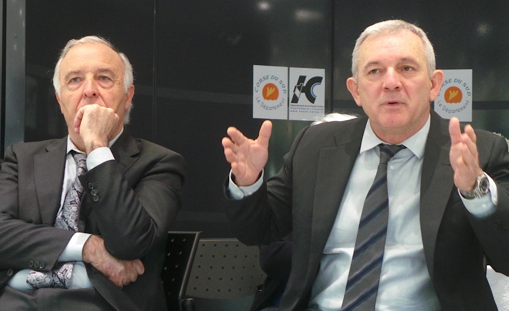 Collectivité unique :  La satisfaction de François Orlandi et Pierre-Jean Luciani