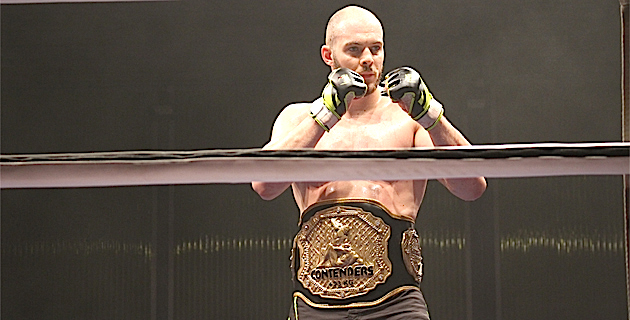 Florian Navarro (KTP Scola) champion Contenders poids lourd