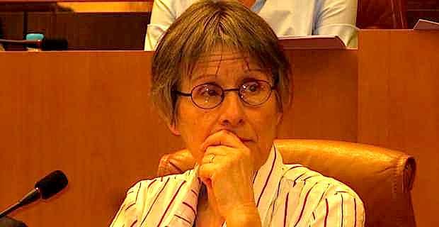 Agnès Simonpietri, présidente de l'office de l'Environnement
