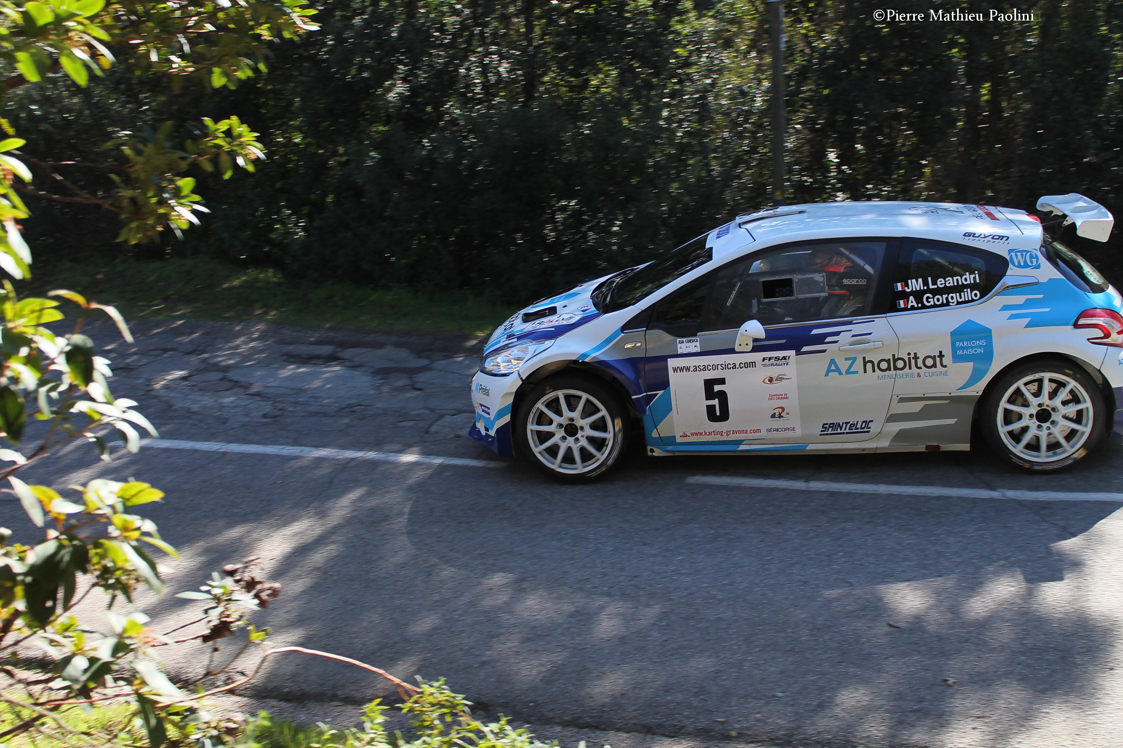 4e Rallye Paese d'Aiacciu : Santoni-Leandri-Andreucci flirtent avec le podium