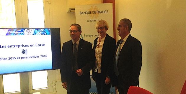 Banque de France, résultats et perspectives : Vers une reprise de l'activité en 2016 en Corse