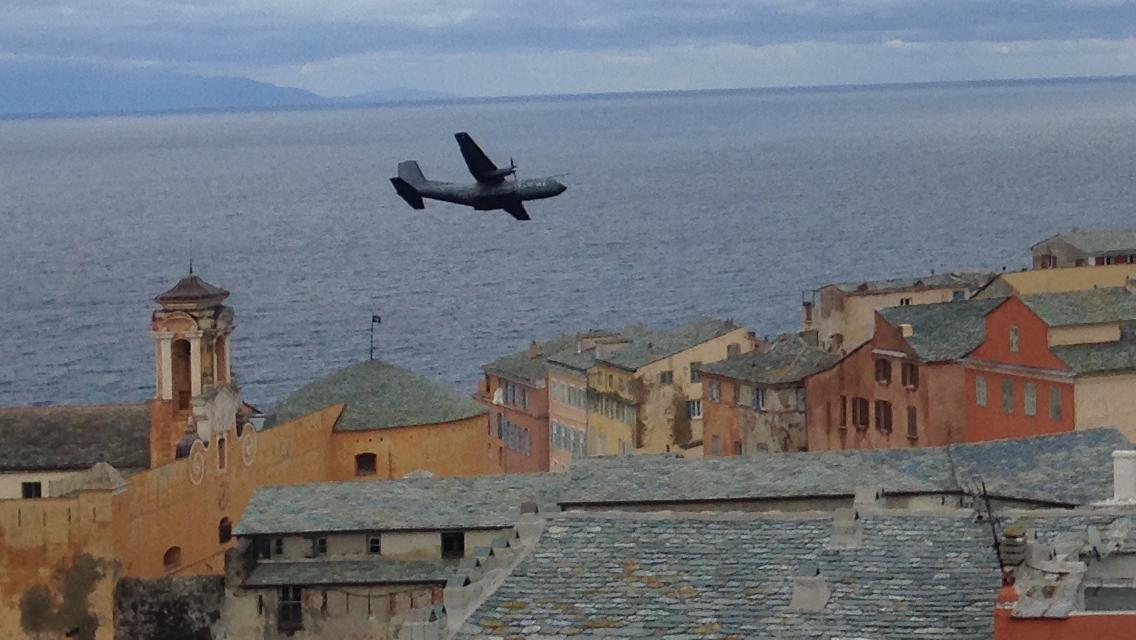 Bastia : Vol au-dessus du clocher di Santa Maria