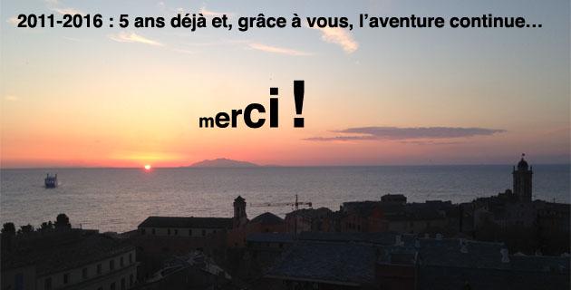 Corse Net Infos : 5 ans déjà et, grâce à vous, l'aventure continue…