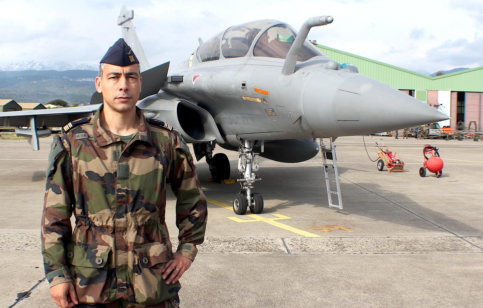 Le colonel Marc Le Bouil