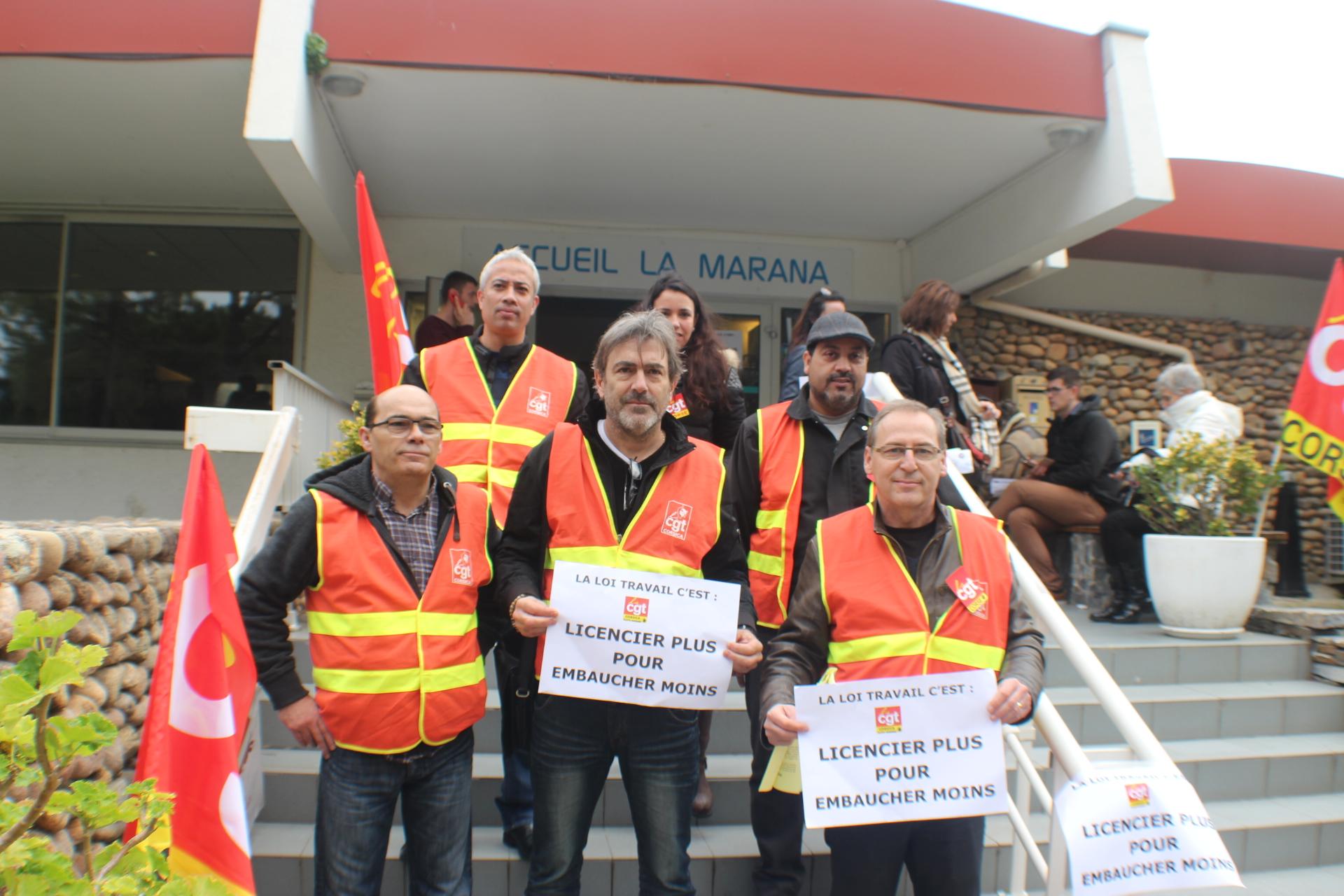 """Bastia : La CGT s'est encore mobilisée contre """"la précarité à vie"""""""