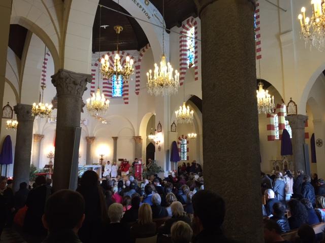 Dimanche des Rameaux à Notre Dame de Lourdes : Coup d'envoi de la Semaine Sainte à Bastia