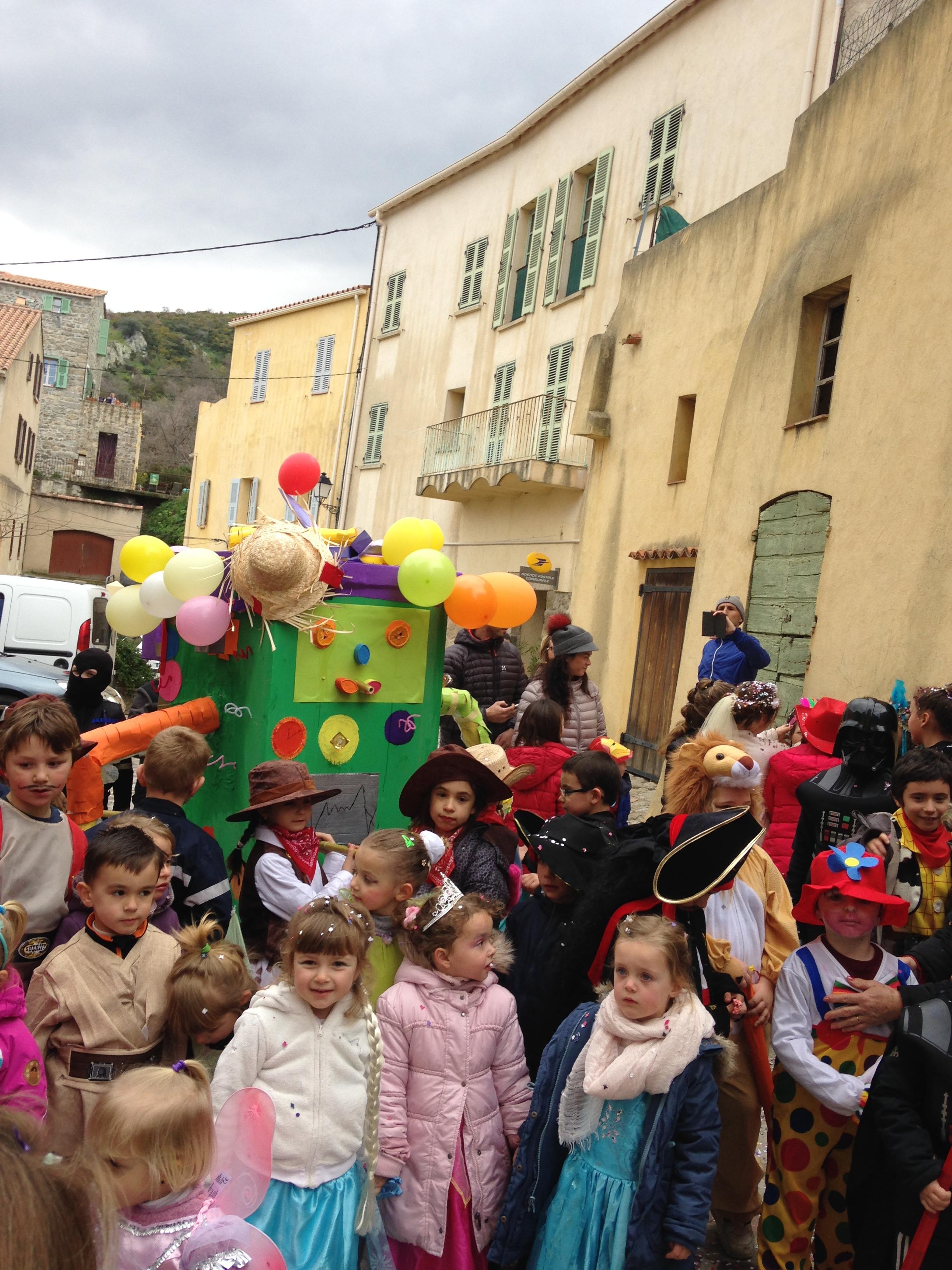 Le RPi d'Aregno à l'heure du carnaval
