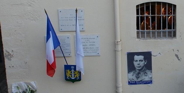 Ajaccio : Hommage à Fred Scamaroni, aux héros et martyrs de la Résistance