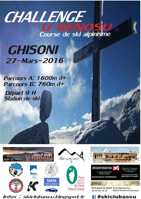 Ski d'Alpinisme à Ghisoni : Première édition du challenge Renosu