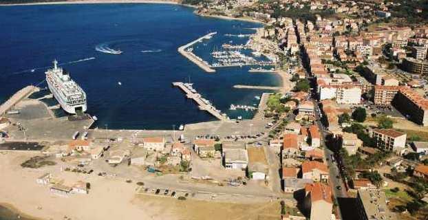 Le port de Propriano.