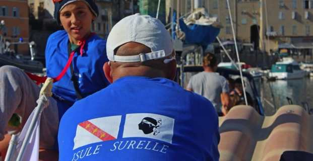 Les voiles d'Isolamondo décollent de l'Elbe… direction Bastia