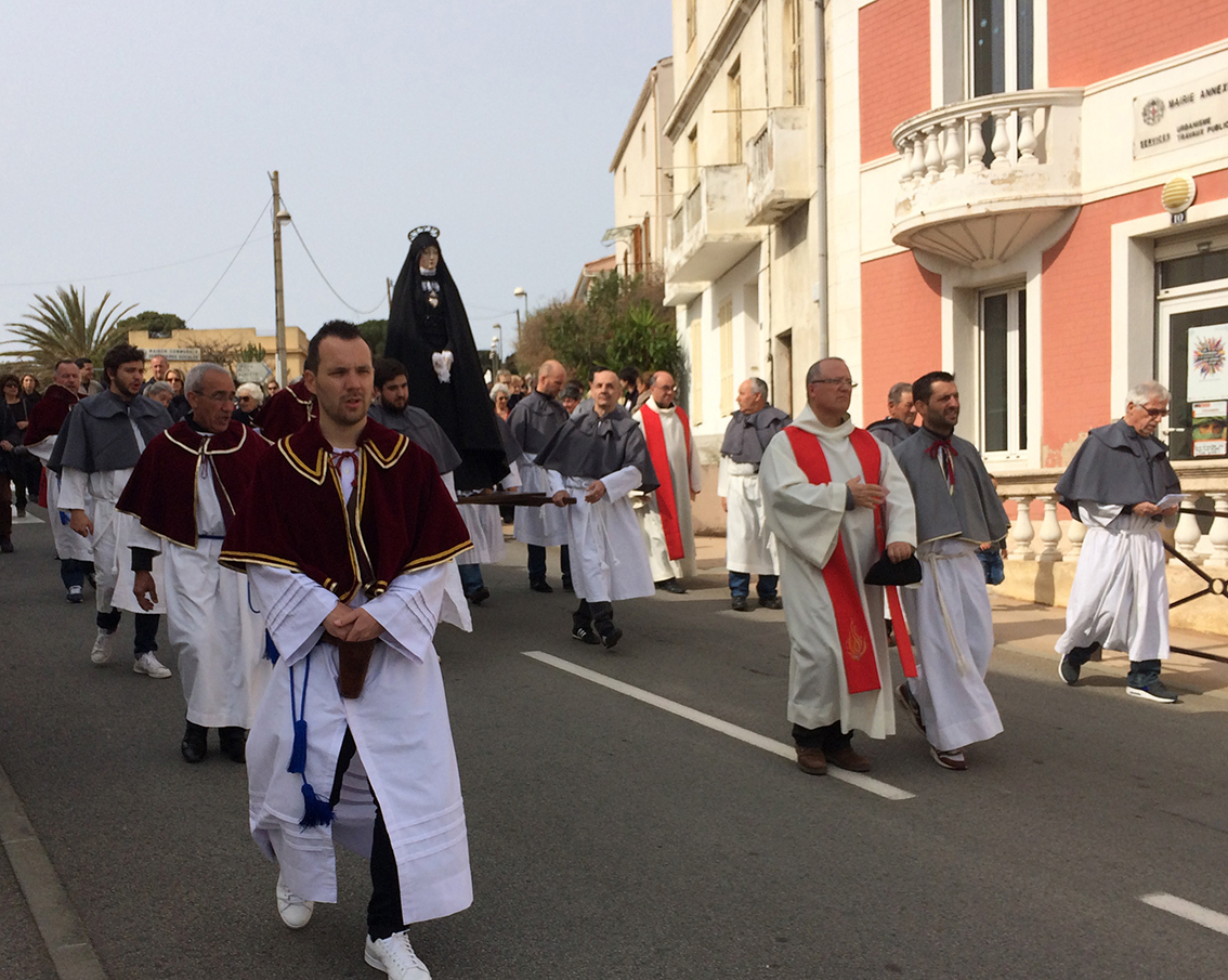 Procession, descente de Croix et mise en sépulture du Christ à Calvi