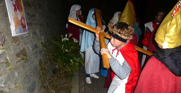 Le Chemin de croix des enfants de Taglio-Isolaccio.