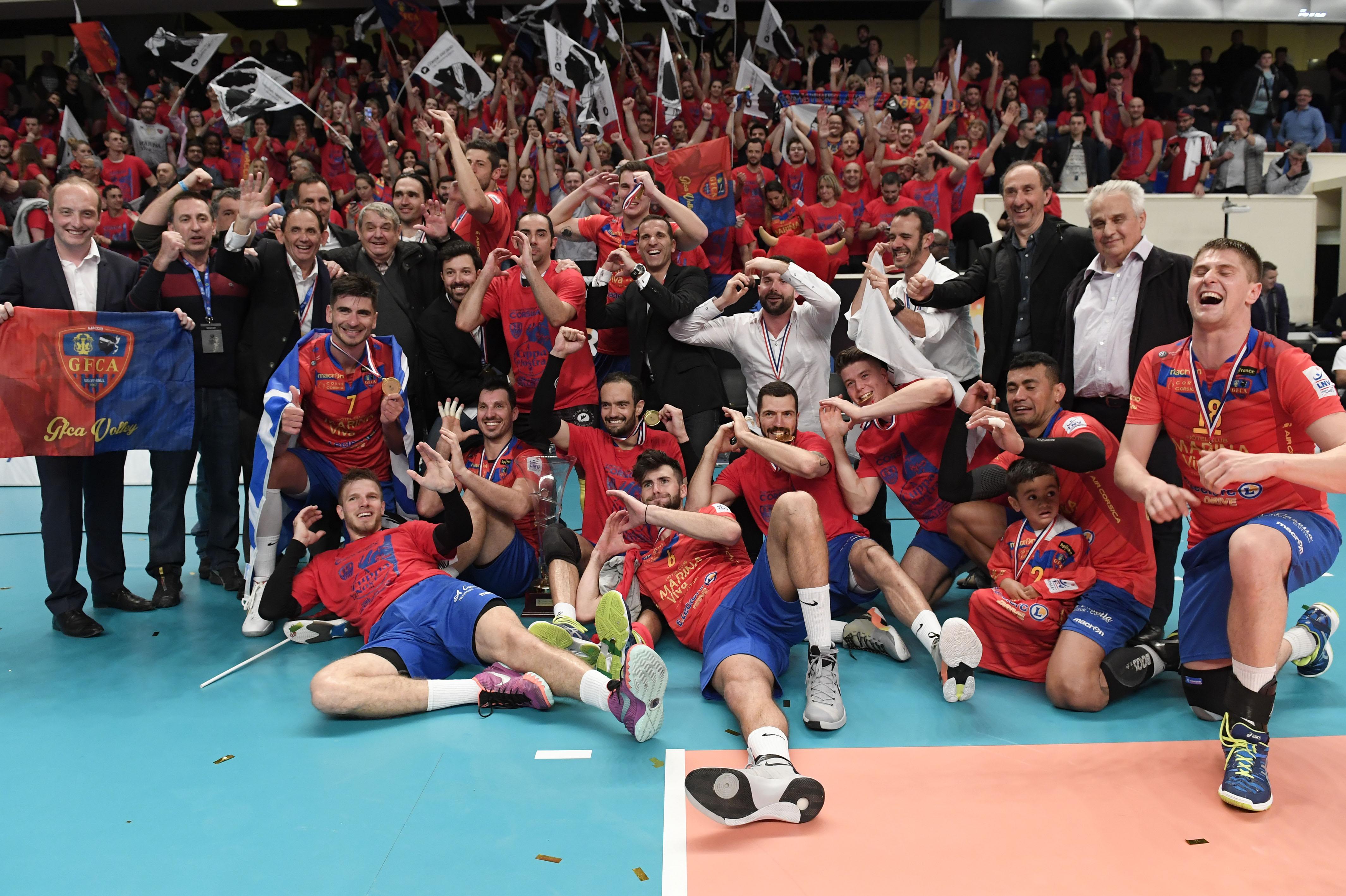 Victoire historique pour le gfca en finale de coupe de france de volley ball - Coupe de france de volley ...