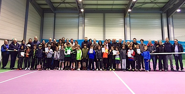 Tennis : Beau succès pour les Interclubs Galaxie par équipes
