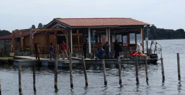 Le restaurant sur pilotis d'Urbinu.