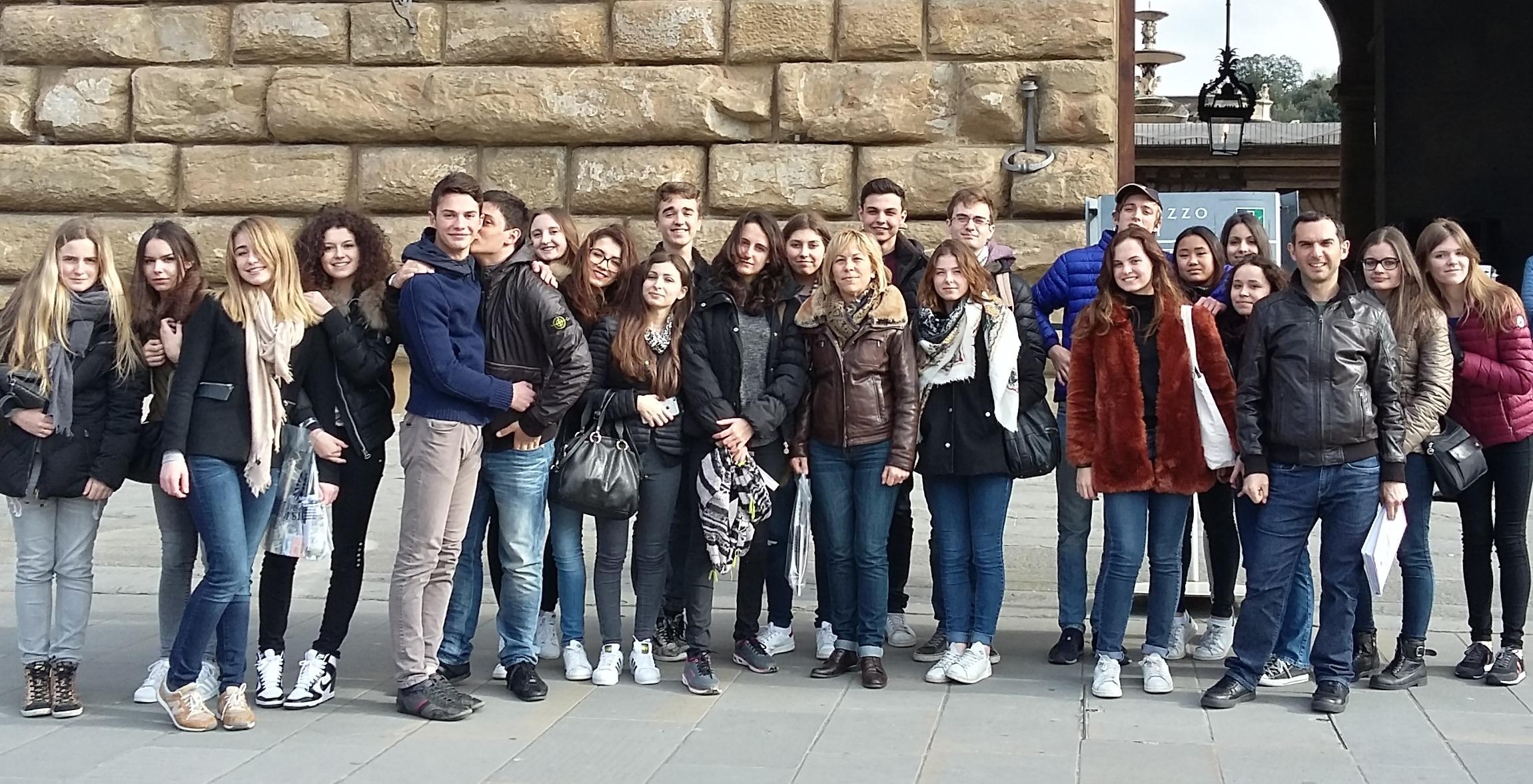 Le lycée Jeanne d'Arc à Florence
