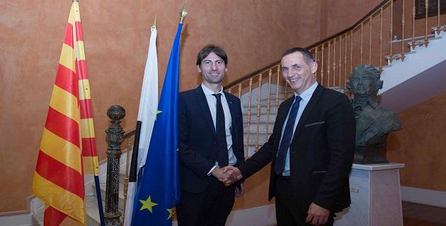Rencontre entre Gilles Simeoni et Jordi Solé : l'Exécutif de Corse invité à une visite officielle en Catalogne